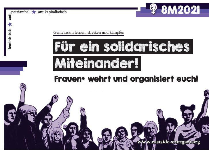 Gemeinsam lernen, streiken und kämpfenFür ein solidarisches Miteinander – Frauen wehrt und organisiert euch!feministisch – antipatriarchal – antikapitalistisch